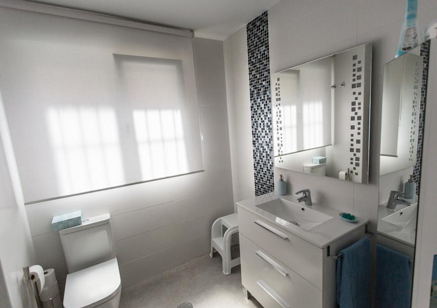 reformas pedrezuela baño blanco