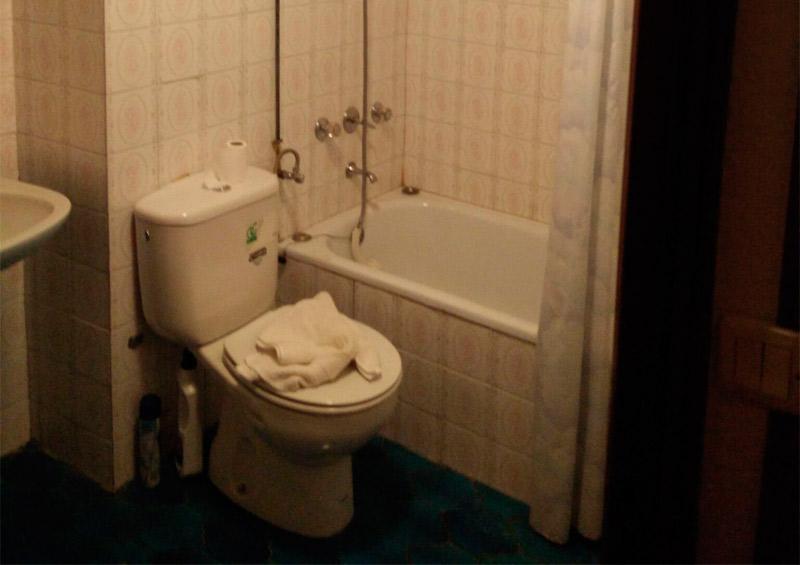 imagen baño sin reformar