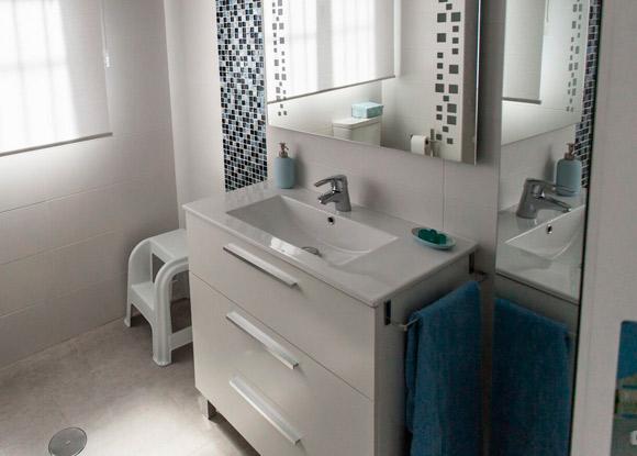 pila de baño reformada