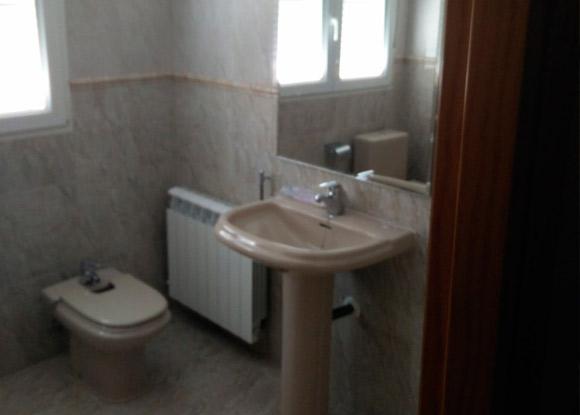 pila de baño no reformado