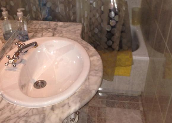 baño sin reformar