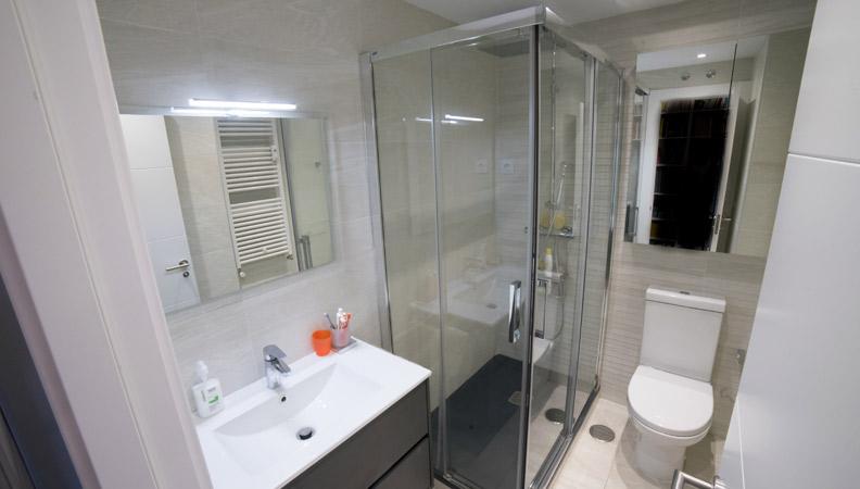 baño reformado en Madrid