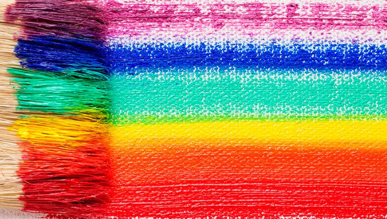tipos de colores en pintura