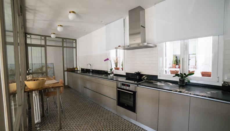 interior de cocina en madrid