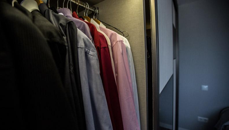 ventajas de tener un armario empotrado