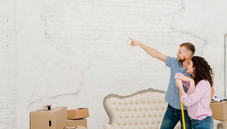 renovar las paredes de casa