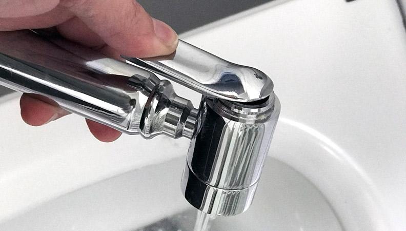 como funciona una ducha higienica