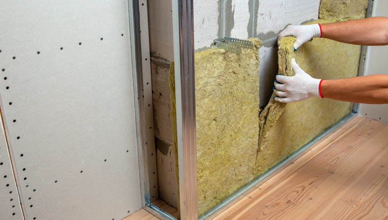 cual es el mejor material aislante termico para una pared
