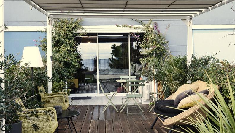 como hacer una bonita terraza